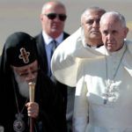 Papa fala de fraternidade em encontro com Patriarca da Geórgia