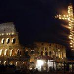"""Via Sacra no Coliseu vai lembrar a """"banalidade do mal"""" no mundo"""