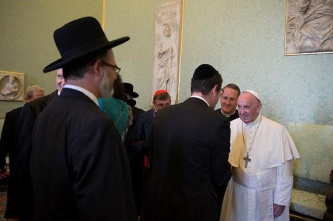 Papa: fecundo momento de diálogo entre católicos e judeus