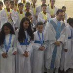 Cerimônia de Instituição do grupo da Cruzada Eucarística e da Filhas de Maria