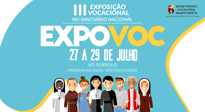 Mais de 30 congregações reunidas em Aparecida na ExpoVoc