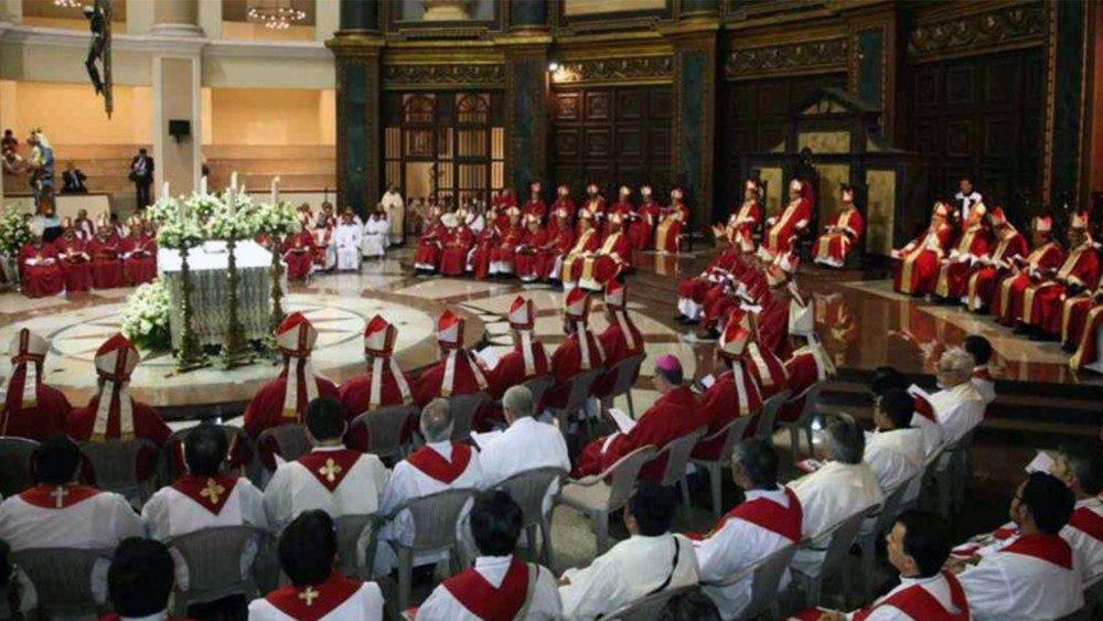 Papa ao Celam: responder aos desafios da América Latina
