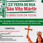 23ª Festa de Rua São Vito Mártir