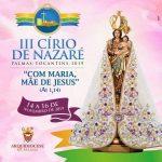Arquidiocese de Palmas promove festa do Círio de Nazaré