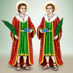 Comemoração de Cosme e Damião