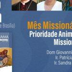 """""""Prioridade da animação missionária"""" Secretária da Obra da Infância e Adolescência Missionária é tema da terceira live de celebração do Mês Missionário 2020"""